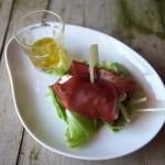 Fagottini di bresaola con ricotta e pomodori secchi