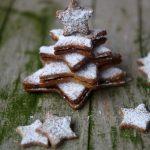 Albero di Natale alle nocciole e spezie, ripieno di Nocciolata