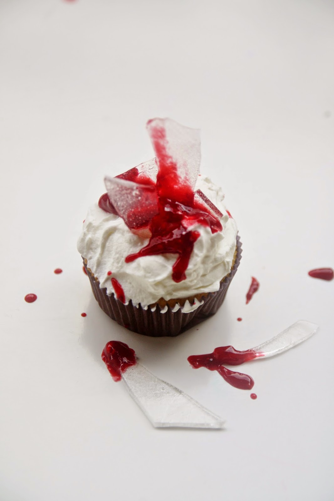 Cupcake Dexter: cupcake insanguinati per Halloween