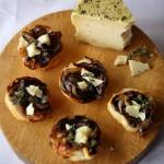 Mini tatin di radicchio rosso di Treviso IGP e formaggio Vento d'estate Carpenedo