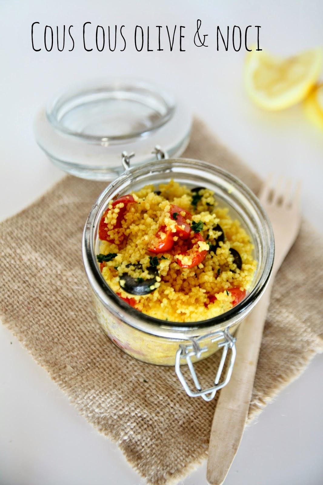 Couscous alle olive e noci