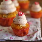 Cupcake con marmellata di ciliegie