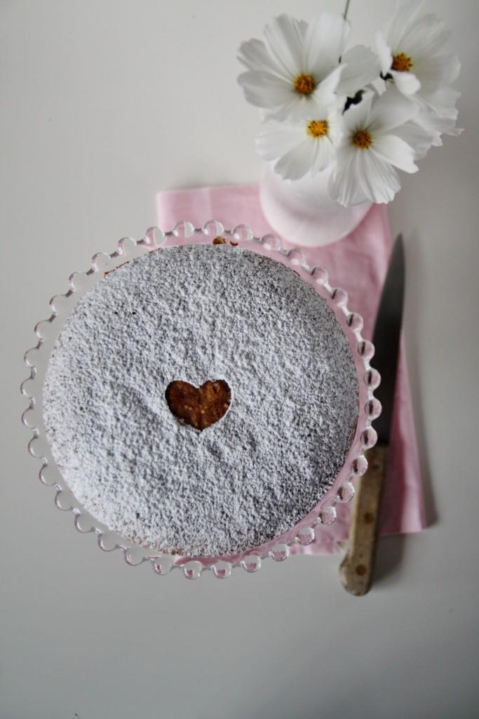 torta al grano saraceno e fiordifrutta lamponi
