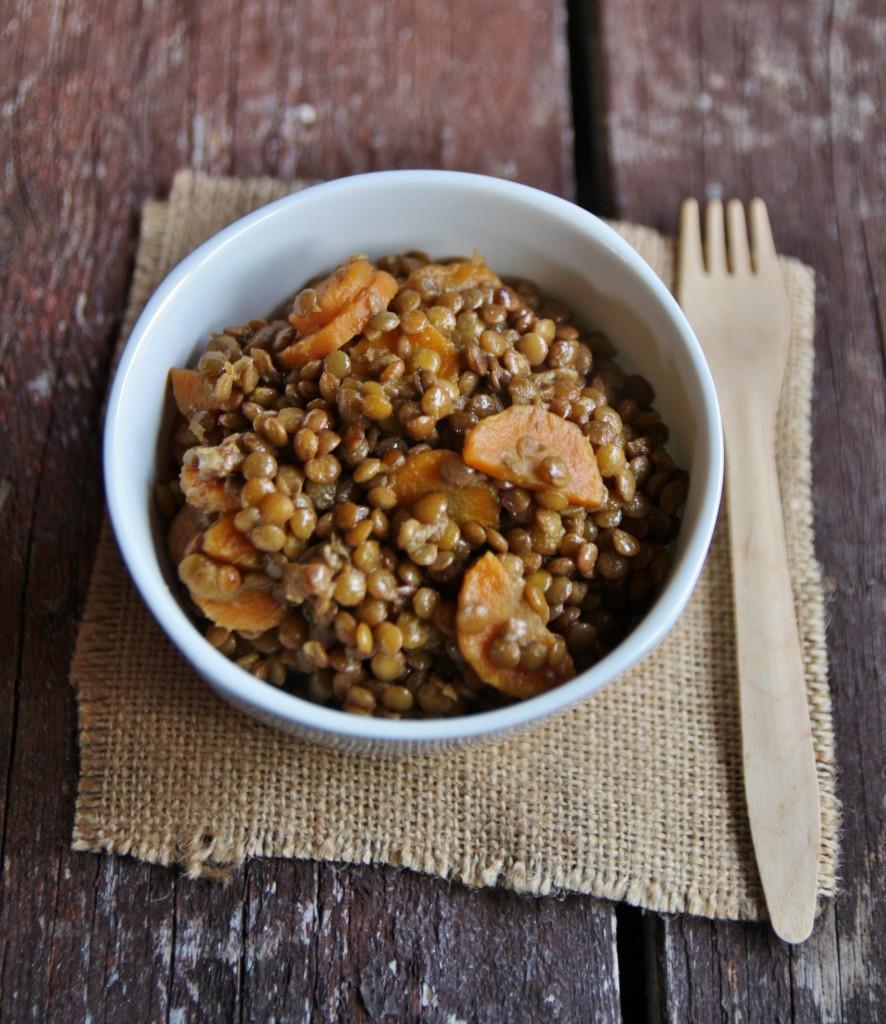 lenticchie al cocco e curry