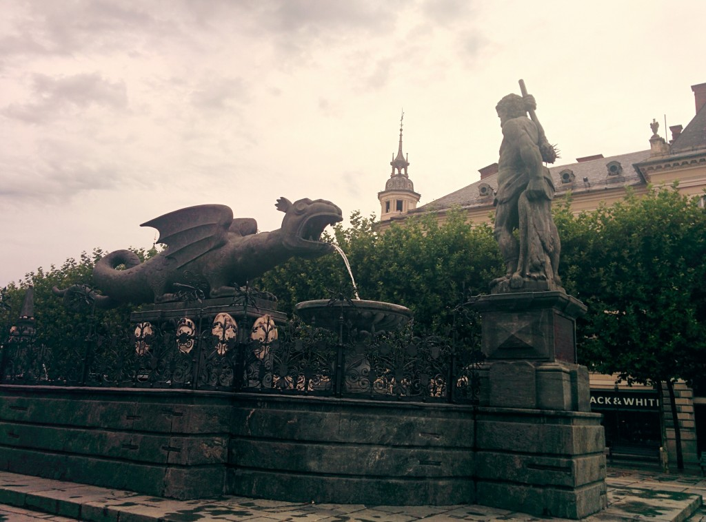 fontana del Lindwurm