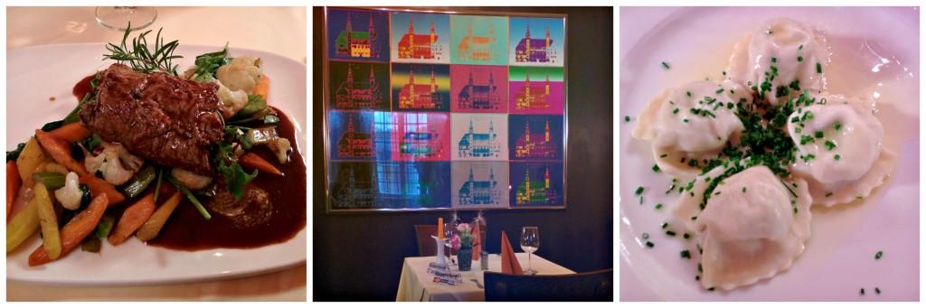 Landhaus restaurant Collage