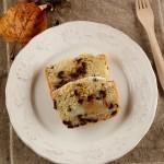 plum cake pere e cioccolato
