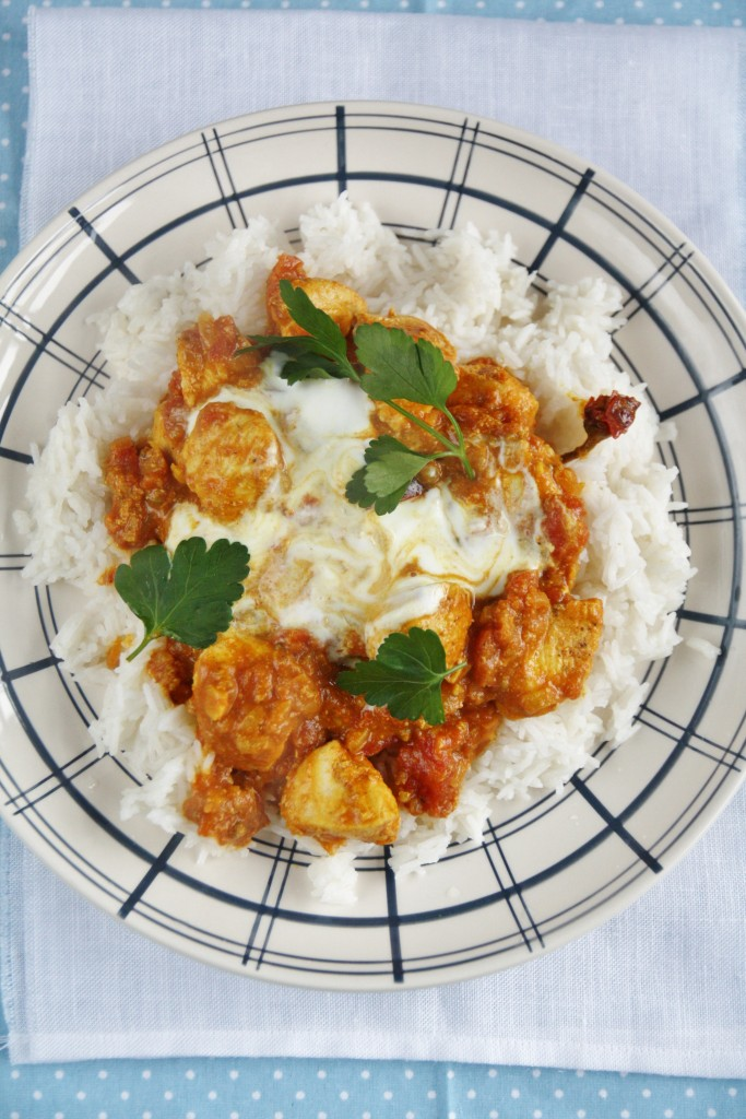 pollo tikka masala di Jamie Oliver