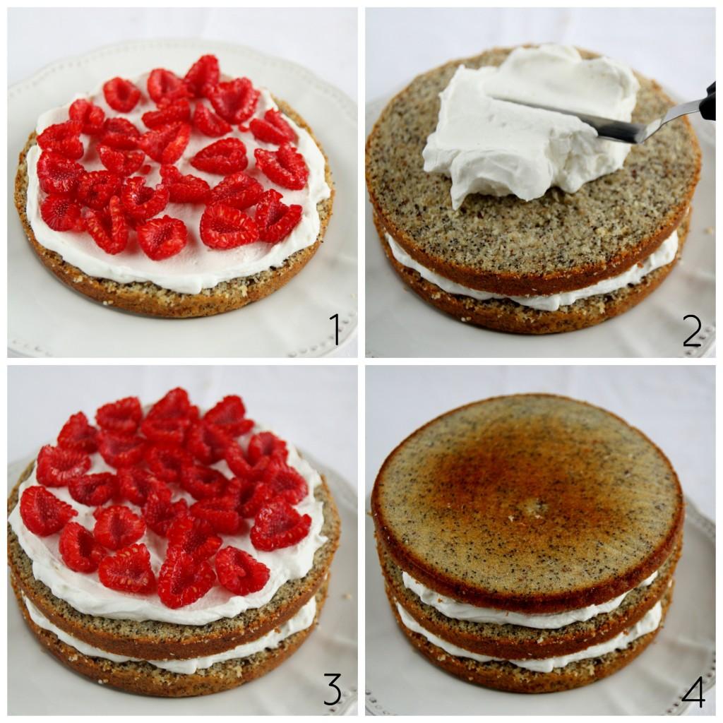 farcitura torta Collage