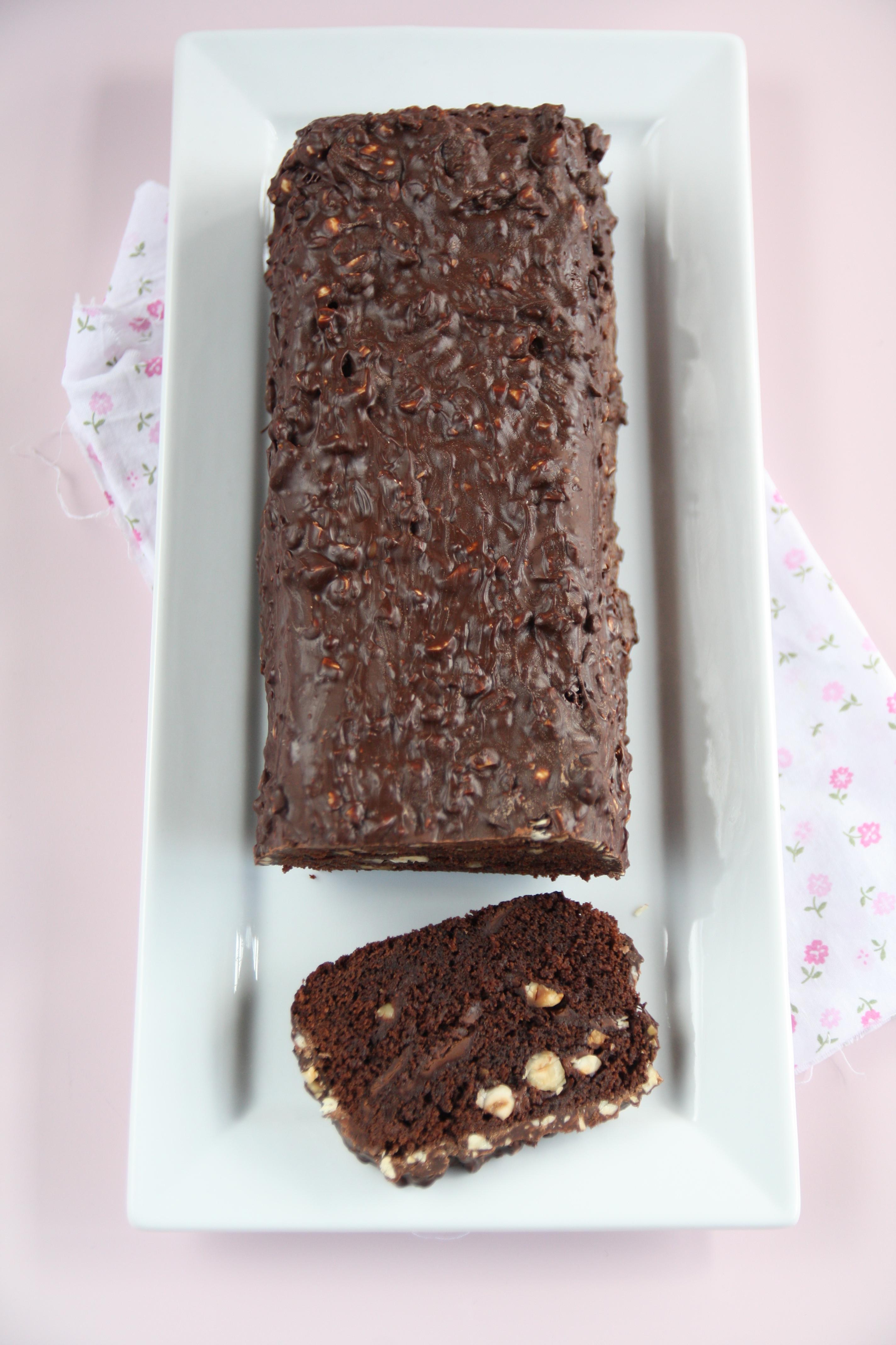 Cake al cioccolato e nocciole di Pierre Hermé