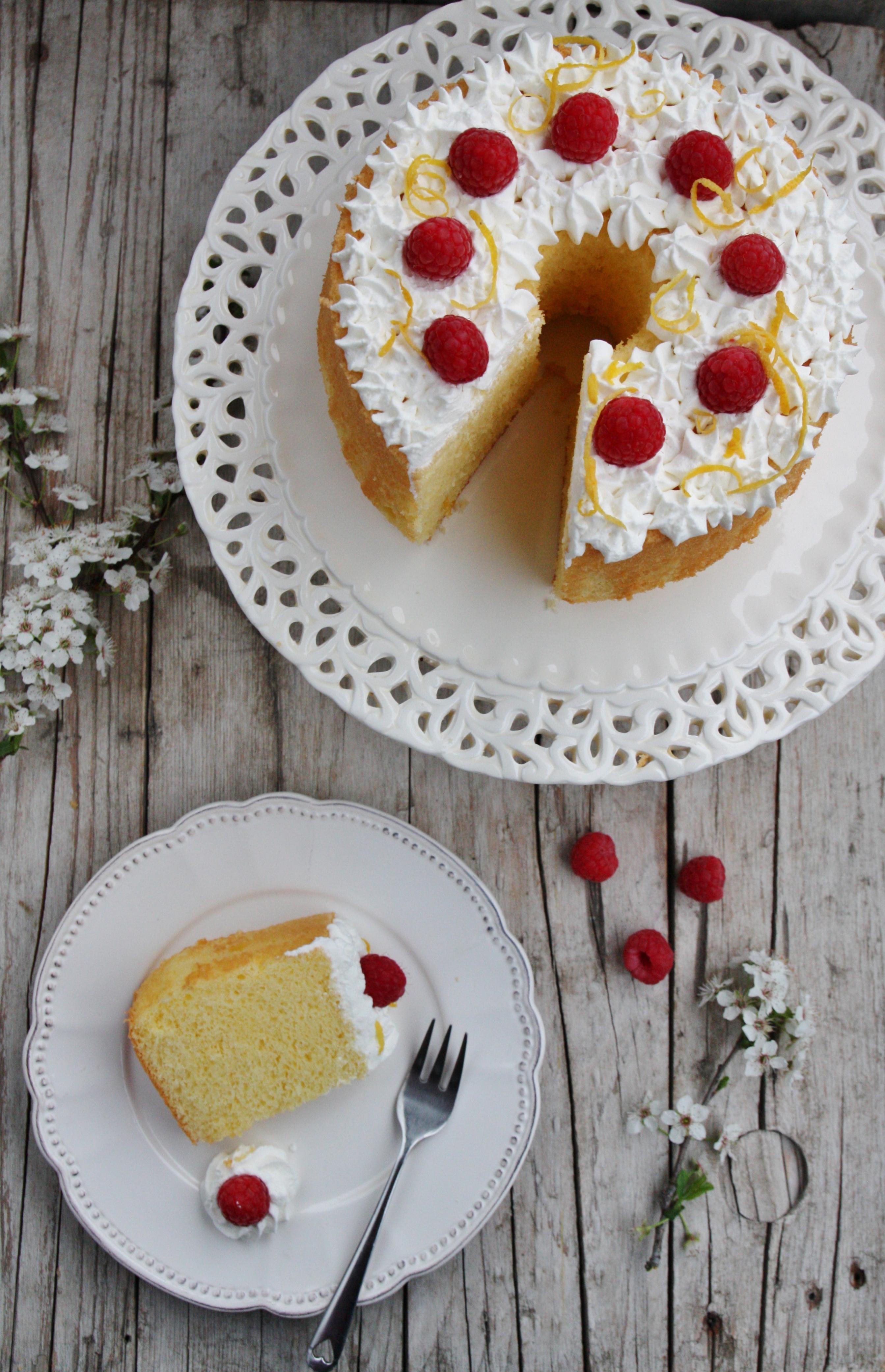 Chiffon cake al limone gluten free