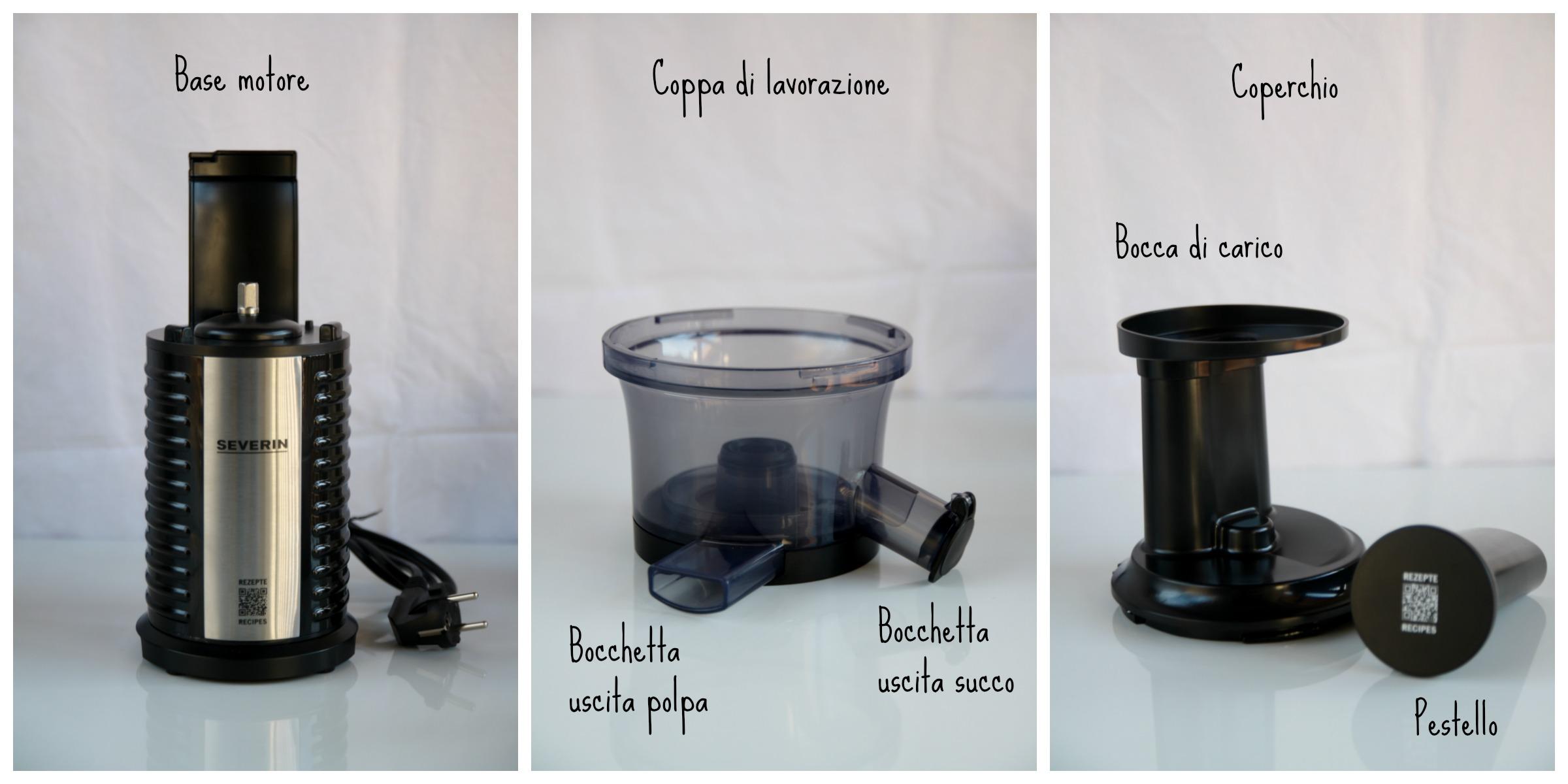 estrattore di succo - base