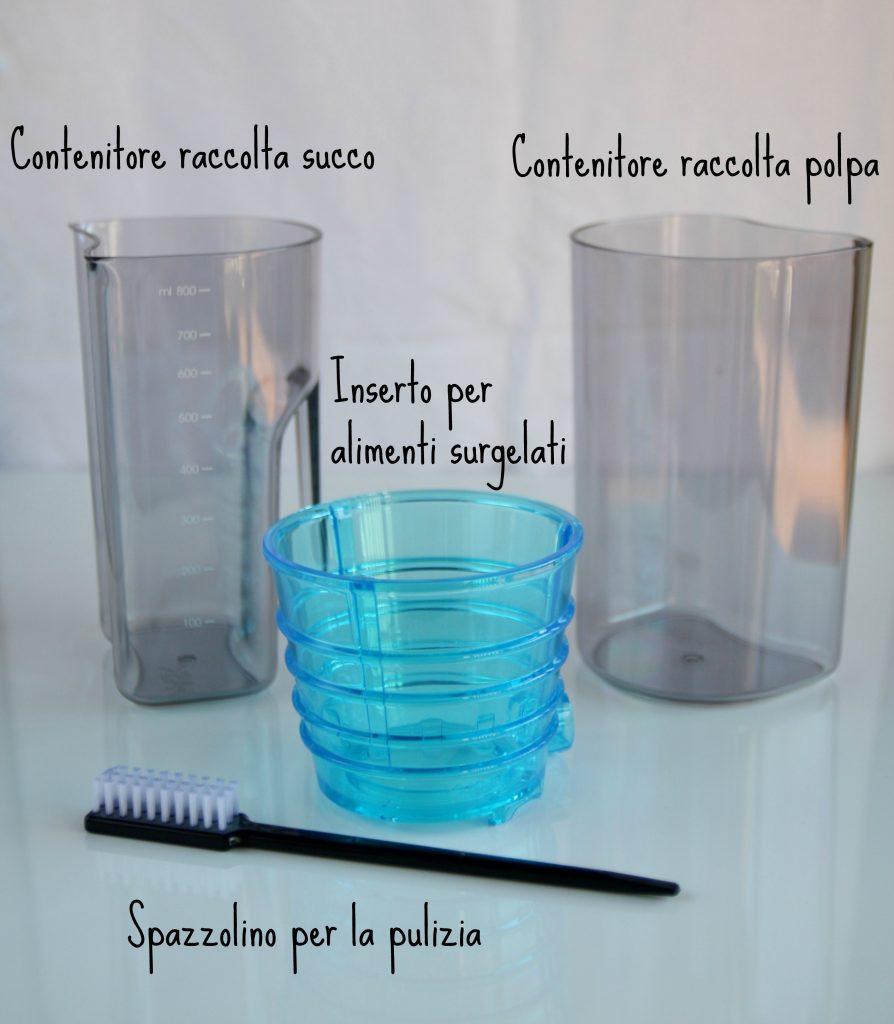 estrattore succo- contenitori