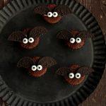 Muffin pipistrelli per Halloween