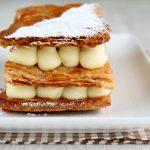 Millefoglie classico alla vaniglia