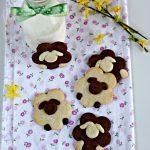 Biscotti a forma di pecorella