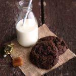 Cookies al cioccolato e caramello