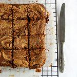 Brownie marmorizzato al burro d'arachidi