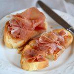 Pan con tomate al prosciutto di San Daniele DOP