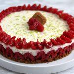 Cheesecake ai lamponi e speculos