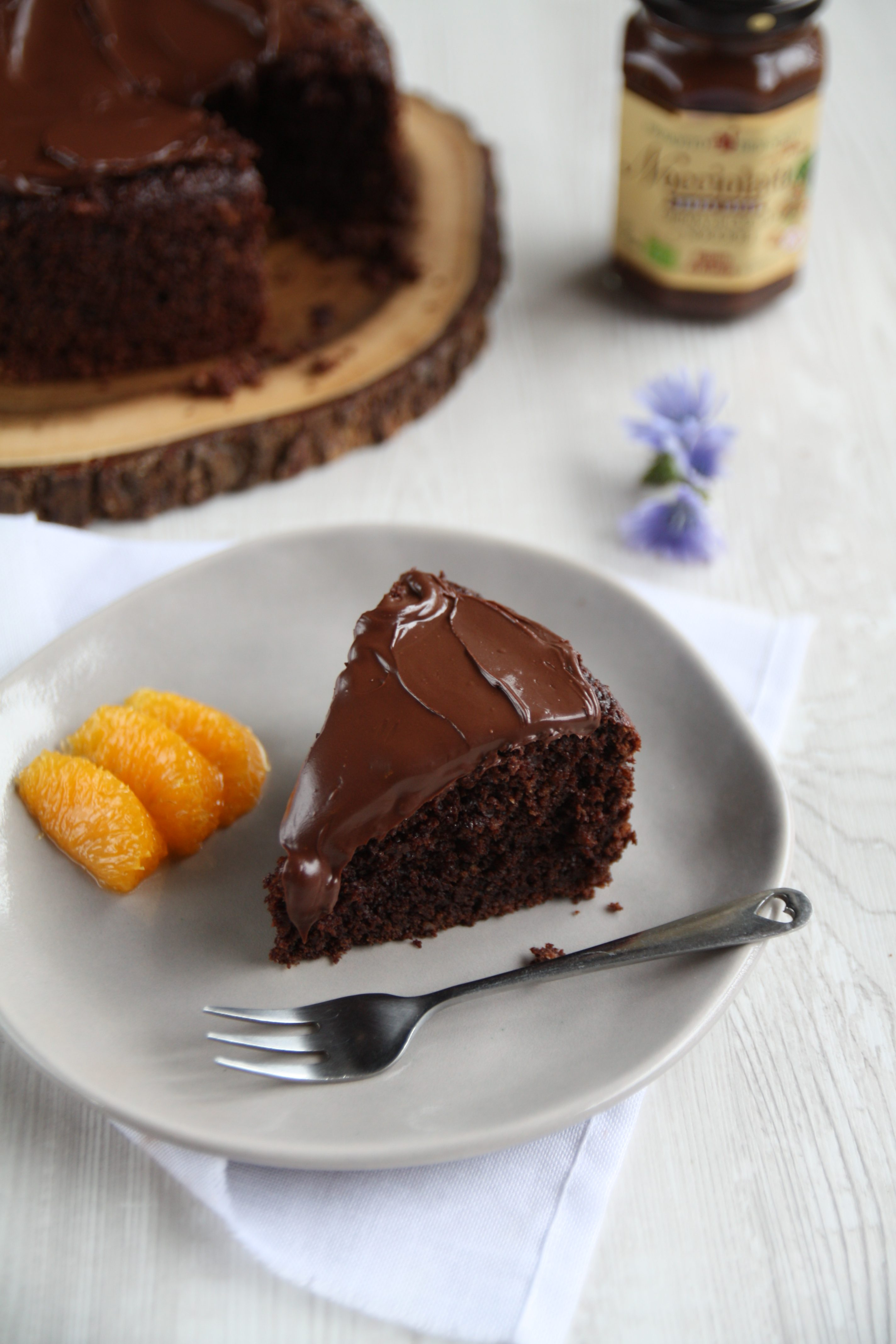 Dolci Senza Farina E Uova.Torta Al Cioccolato Senza Glutine E Senza Lattosio