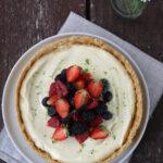 Cheesecake con crema al mascarpone e frutti di bosco