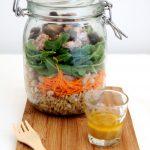 Salad in a jar – Insalata nel barattolo