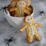 Scheletri di pasta frolla per Halloween