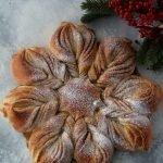 Stella di pan brioche alla cannella