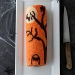 Rotolo di Halloween al cioccolato
