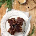 Brownie al cioccolato e speculoos