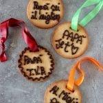 Biscotti medaglia per la festa del papà